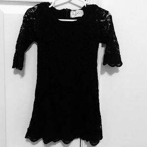 Other - Toddler Girls Black Lace Dress